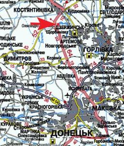 карта проезда в Клебан-Бык