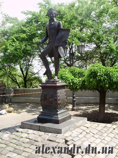 памятник Дерибасу