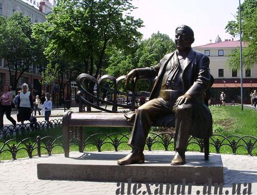 памятник Утесову