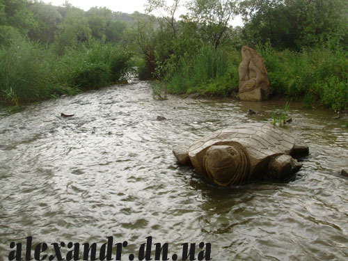 черепаха зуевка