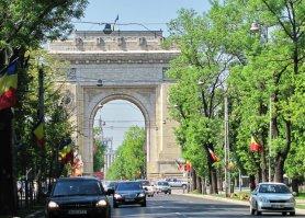 Бухарест. Триумфальная арка