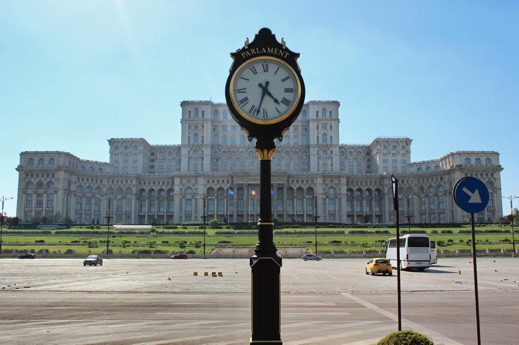 Парламент в Бухаресте