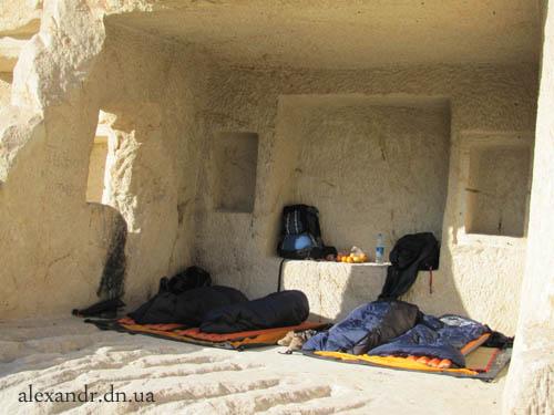 ночлег в пещере