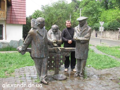 Дилижан. Памятник Мимино