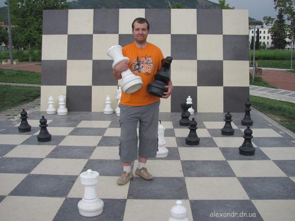 Тбилиси. Шахматы в парке